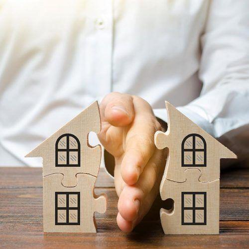 divorcio y casas